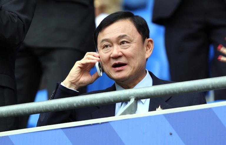 <p>Thaksin Shinawatra in London in 2007.</p>