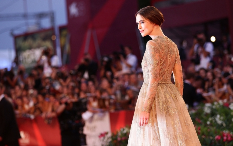 <p>You might even see Keira Knightley, shown here posing glamorously in Venice.</p>