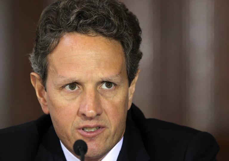 <p>U.S. Treasury Secretary Timothy Geithner.</p>