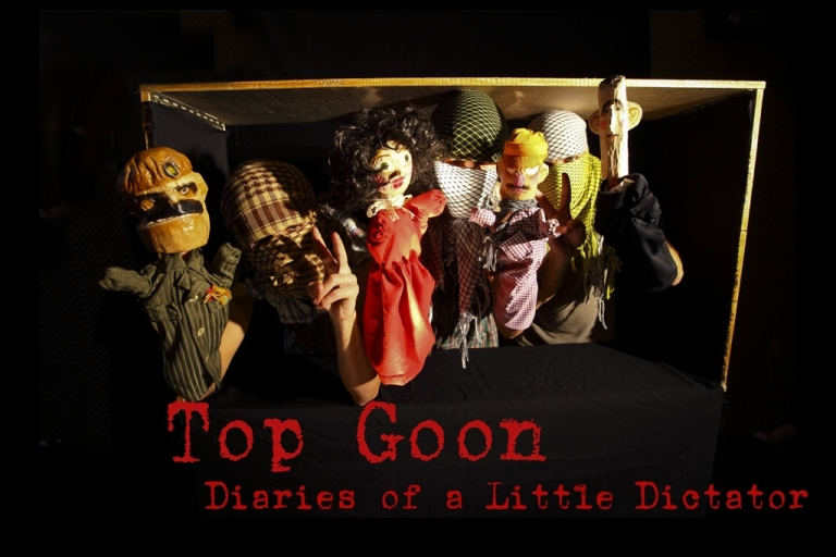 <p>Some of the puppet characters featured in