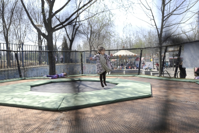 <p>Citing nearly 100,000 injuries from jumping on trampolines in 2009, the American Academy of Pediatrics has also dismissed the recent addition of safety nets around trampolines.</p>