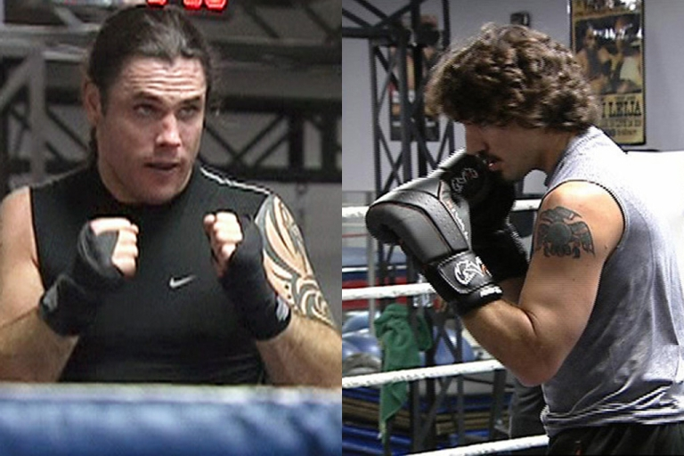 <p>Conservative Sen. Patrick Brazeau, left, and Liberal MP Justin Trudeau are to box for charity on March 31 in Ottawa.</p>