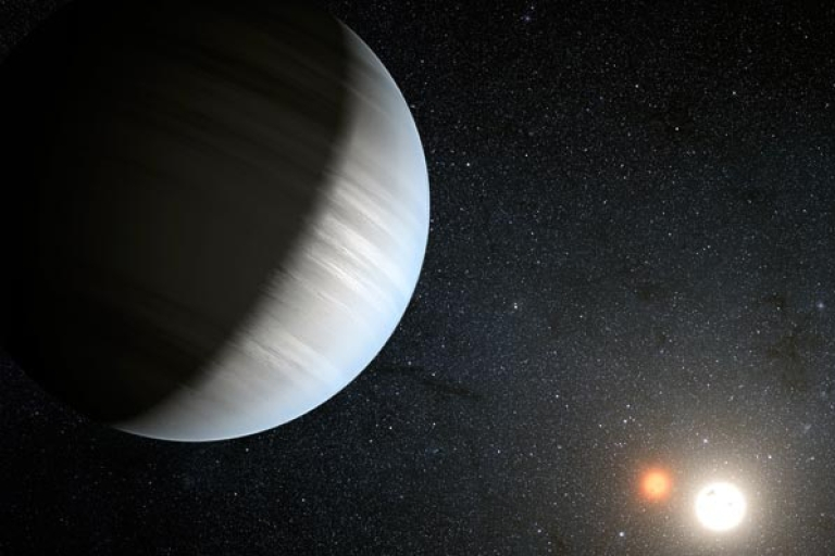 <p>Astronomers find planets with twin stars reminiscent of Star Wars'
