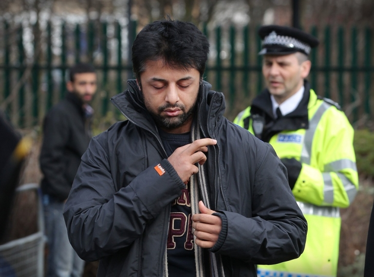<p>Shrien Dewani arrives at Belmarsh Magistrates Court on February 24, 2011 in London, England. Britain's High Court on March 30, 2012 temporarily halted Dewani's extradition to South Africa, where authorities want him to stand trial for allegedly hiring a hit-man to kill his bride Anni on their honeymoon.</p>