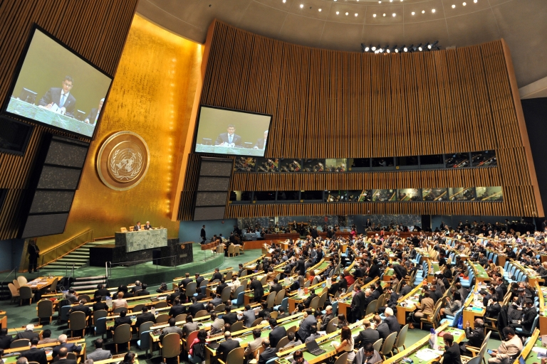 <p>With no veto available to objecting countries such as the United States in the UN General Assembly, support from powerful European states has been seen as crucial to the legitimacy of Palestinian demands.</p>