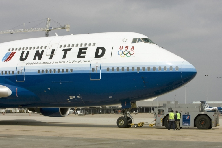 <p>A United Airlines spokeswoman, Megan McCarthy, said the pilot declared an emergency landing because a passenger wasn't following flight attendant instructions for landing.</p>