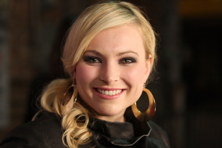 <p>Meghan McCain, daughter of US Senator John McCain and Cindy McCain, began her writing career during her father's 2008 presidential campaign bid as an avid blogger. In January 2009, she began working as a correspondent for The Daily Beast.</p>