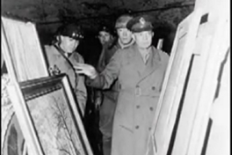 <p>The National Archives already possess 39 other albums of stolen art and furniture.  They were discovered by American soldiers in Germany in May 1945 and used as evidence in the Nuremberg trials.</p>