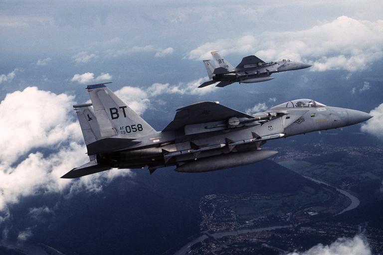 <p>The United States announced a sale of $30 billion worth of F-15s to Saudi Arabia.</p>
