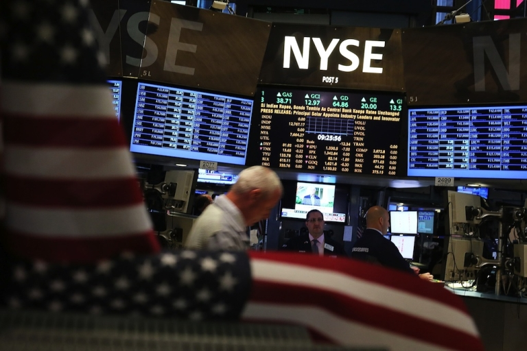 <p>US financial markets will reopen for trading on Wednesday.</p>