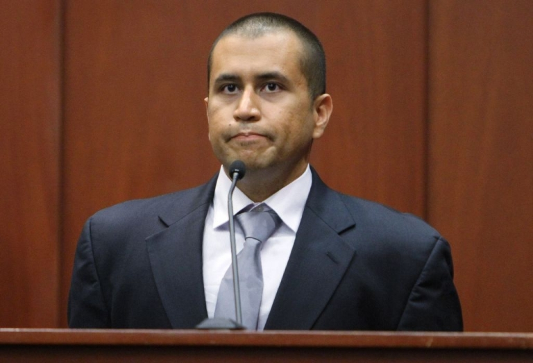 <p>George Zimmerman takes the stand during his bond hearing for the shooting death of Trayvon Martin in Sanford, Florida on Apr. 20, 2012.  He has since entered a plea of not guilty.</p>