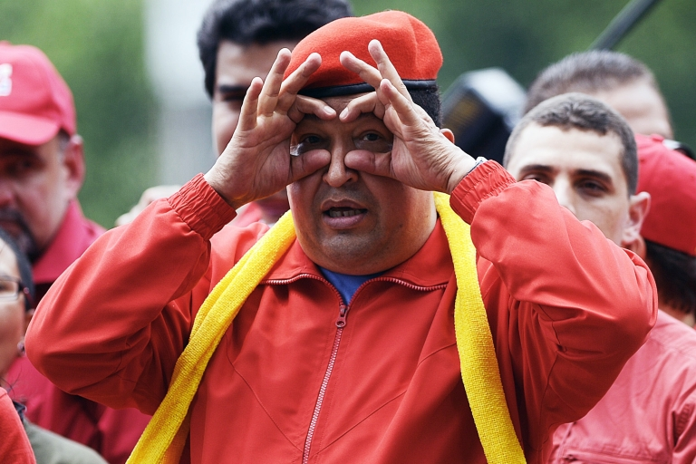 <p>President Chavez can be playful, but if you face him in an election, his verbal assaults can be ruthless.</p>