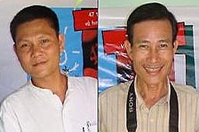 <p>Ta Phong Tan and Nguyen Van Hai. From the Human Rights Watch website.</p>