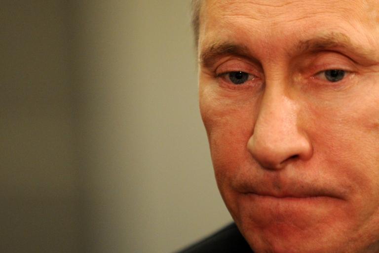 <p>Russia's Prime Minister Vladimir Putin on Dec. 7, 2011.</p>
