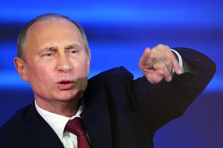 <p>Putin said Russia will not hand over fugitive NSA contractor Edward Snowden to the United States.</p>