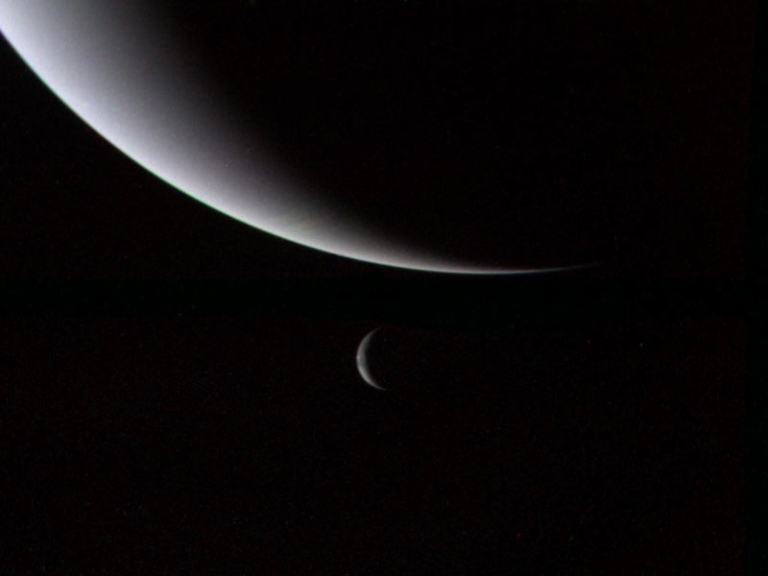 <p>Neptune has a new moon, discovered by the Hubble Space Telescope.</p>
