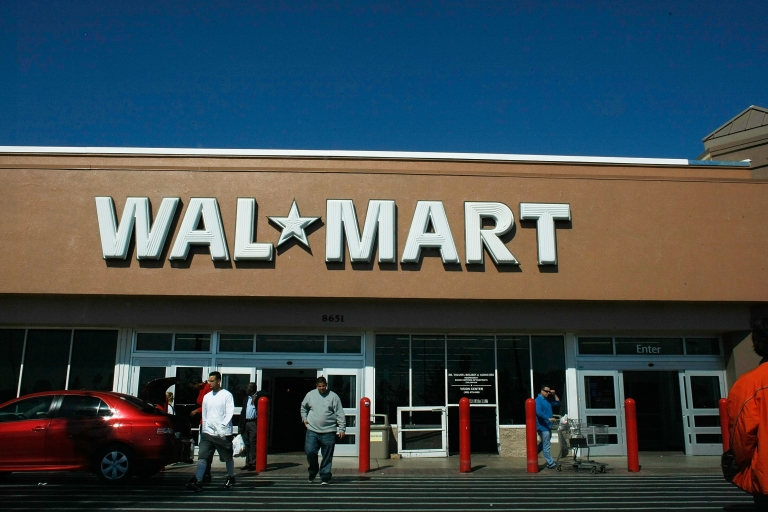 <p>A Wal-Mart store in Miami, Fla.</p>