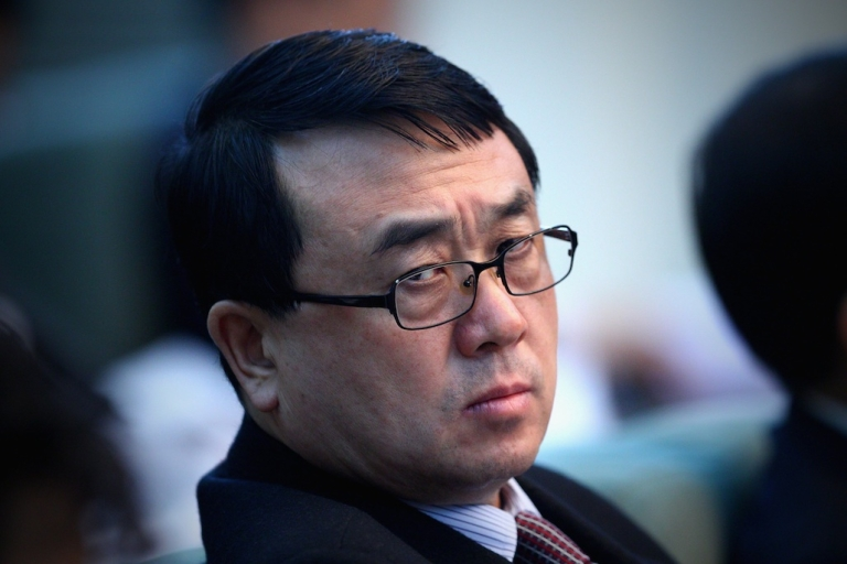<p>Wang Lijun, Chief of Chongqing Public Security Bureau, attends a March 6, 2011 meeting during the annual National People's Congress at the Great Hall of the People in Beijing, China.</p>