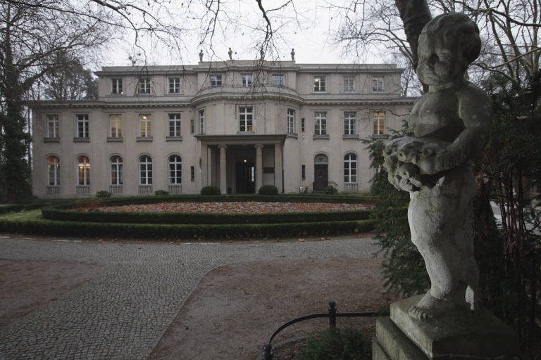 <p>The Villa Marlier on the shores of the Wannsee just outside Berlin.  70 years ago today, the
