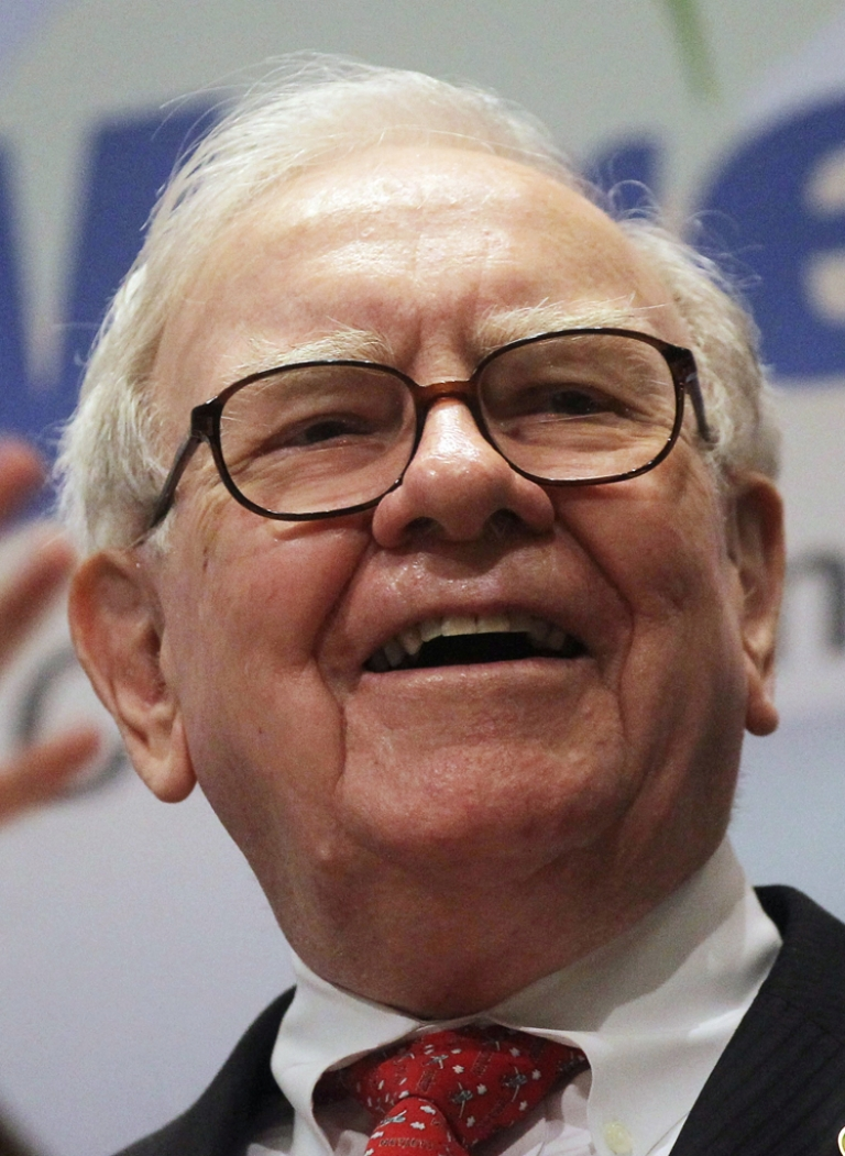 <p>Berkshire Hathaway Inc. Chairman and CEO Warren E. Buffett smiles at the New York Stock Exchange before ringing the opening bell on September 30, 2011 in New York City.</p>