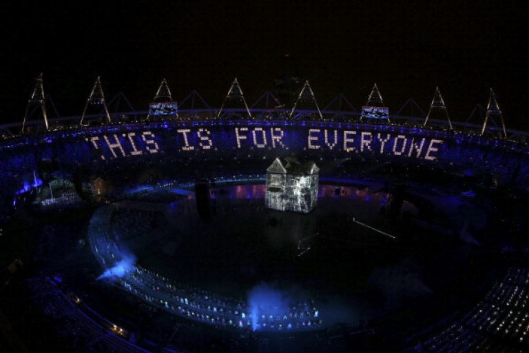 <p>London's Olympic opening ceremony may have been