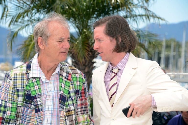 <p>Wes Anderson poses at the