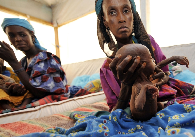 <p>More than one million children in the Sahel are at risk of severe malnutrition, Oxfam says, with a mix of drought, high food prices and conflict to blame for the crisis.</p>