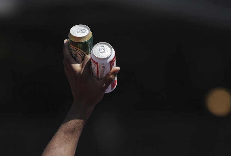 <p>Beer. A woman from Winnipeg, Canada, was shot in the eye on New Year's Eve but insisted on finishing her beer before seeking treatment.</p>