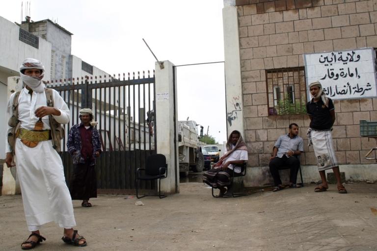 <p>Al Qaeda loyalists in the town of Jaar, in Yemen's southern Abyan province, on Jan.  25, 2012.</p>