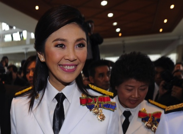 <p>Elected in July, Thailand's Yingluck Shinawatra, 44, is the kingdom's first female prime minister.</p>
