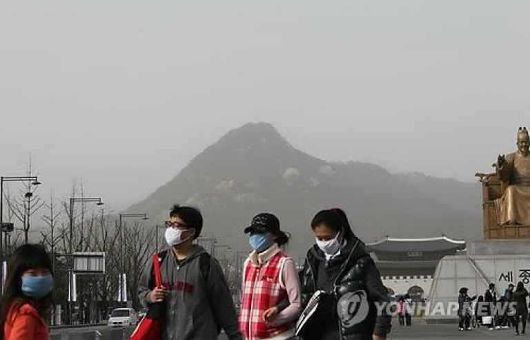 <p>South Korean press reports the yellow dust that blows in from China each year contains radioactive particles.</p>