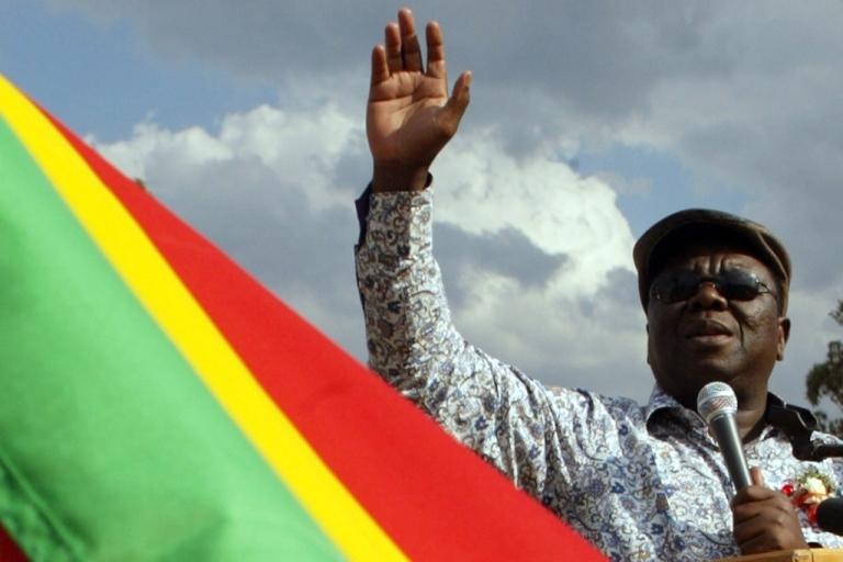 <p>Zimbabwean Prime Minister Morgan Tsvangirai criticized President Robert Mugabe's economic policies as