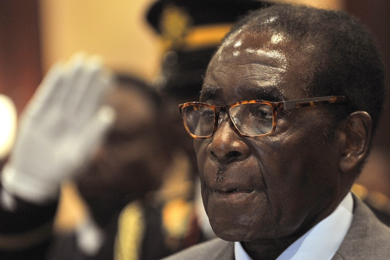 <p>Zimbabwe's political situation will be discussed at a summit of the Southern African Development Community (SADC). In this picture, Zimbabwean President Robert Mugabe attends the opening of a SADC summit in Windhoek, Namibia on May 20, 2011.</p>