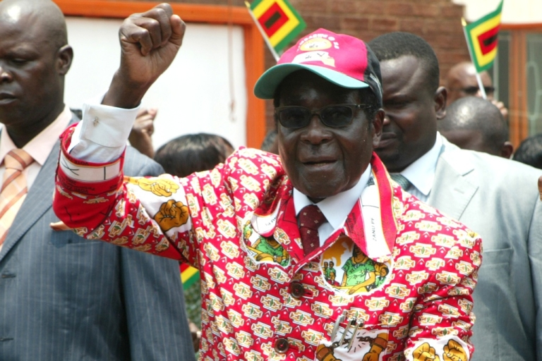 <p>Zimbabwe President Robert Mugabe regularly rants about homosexuality. An opposition member of parliament, Lynette Karenyi, has been freed after spending Christmas in jail for allegedly saying Mugabe had had gay sex.</p>