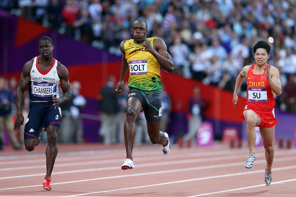 Usain Bolt is (still) the fastest man in the world ...